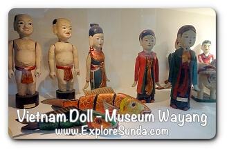 Vietnam Doll - Museum Wayang
