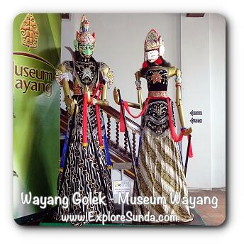 Wayang Golek, Gatot Kaca & Pergiwa - Museum Wayang