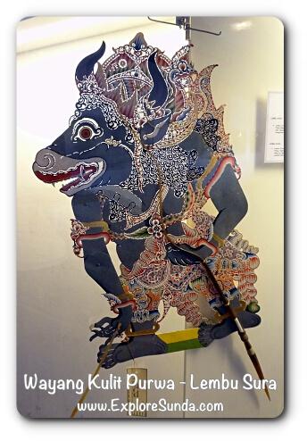 Wayang Kulit Purwa, Lembu Sura - Museum Wayang