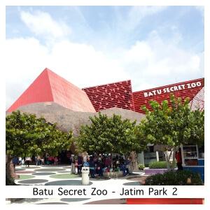 Batu Secret Zoo - Batu, Malang