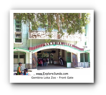 East Entrance Gate of Gembira Loka Zoo