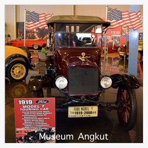 Museum Angkut (Transportation Museum) in Batu, Malang, East Java