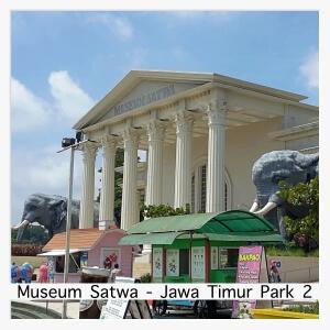 Museum Satwa at Jawa Timur Park 2 in Batu, Malang, East Java