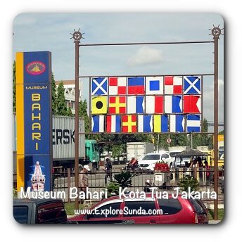 Museum Bahari (Maritime Museum) in Kota Tua Jakarta