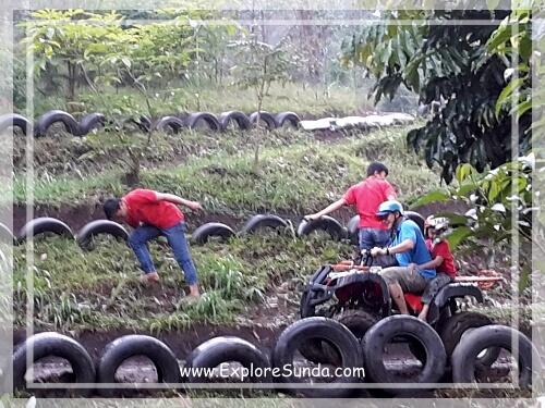 ATV ride at Dusun Bambu,  Cisarua - Lembang