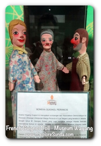 French Guignol Doll - Museum Wayang