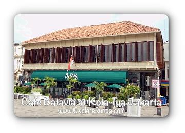 Cafe Batavia at Kota Tua Jakarta
