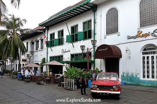 Cafe at Kota Tua Jakarta