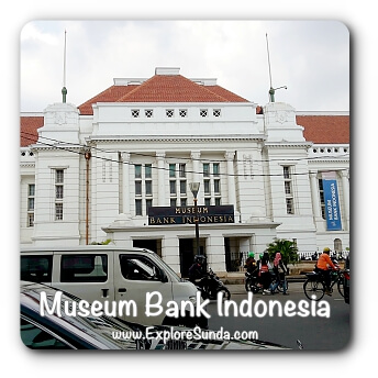 Indonesia Central Bank Museum at Kota Tua Jakarta