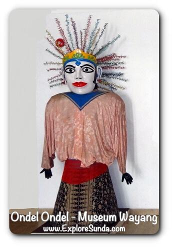 Female Ondel Ondel - Museum Wayang