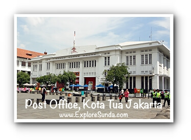 Post Office at Kota Tua Jakarta
