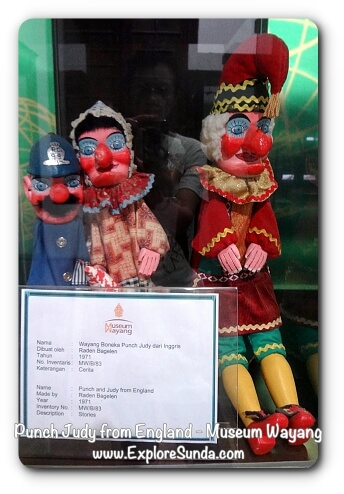 Punch & Judy from England - Museum Wayang