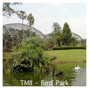 Bird Park at Taman Mini Indonesia Indah