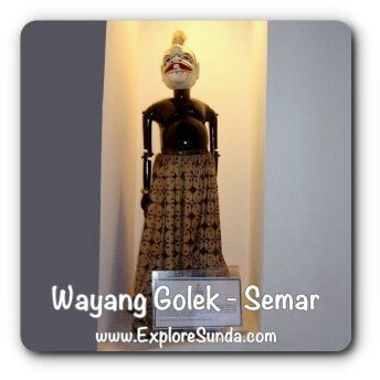 Wayang Golek, Semar - Museum Wayang