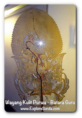 Wayang Kulit Purwa, Batara Guru - Museum Wayang